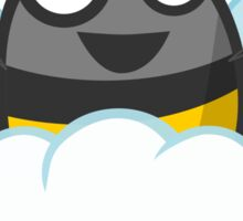 Happy Cloud Bee Sticker