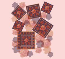 Orange Rose One Piece - Short Sleeve