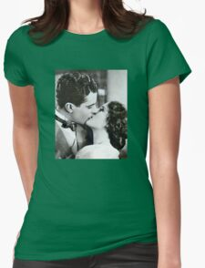 The Kiss Womens Fitted T-Shirt