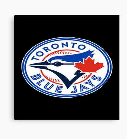 blue jays logo Canvas Print