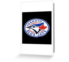 blue jays logo Greeting Card