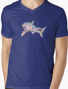 Shark drawing - 2011 Mens V-Neck T-Shirt