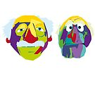 two old codgers by 2piu2design