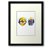 two old codgers Framed Print