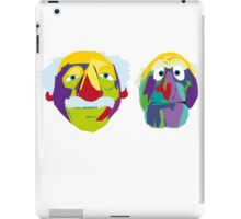 two old codgers iPad Case/Skin