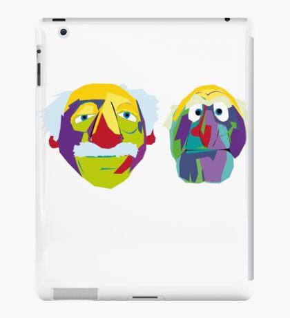 two old codgers iPad Case/Skin