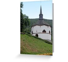 Octogonal Chapel Greeting Card