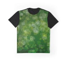 Dreamy Lucky Shamrock Bokeh  Graphic T-Shirt