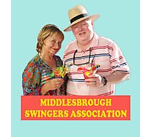BENIDORM MIDDLESBROUGH SWINGERS ASSOCIATION CULT BRITISH TV Photographic Print