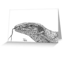 Sand Goanna Greeting Card