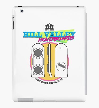 Hill Valley Hoverboards iPad Case/Skin