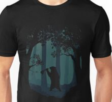 Meanwhile, in the woods... Unisex T-Shirt
