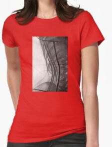 Corset X-Ray Womens Fitted T-Shirt