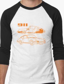 retro 911 Men's Baseball ¾ T-Shirt
