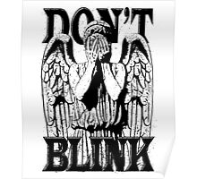 Weeping Angel Dr. Who Quote Poster