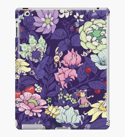 The Garden Party - blueberry tea version iPad Case/Skin