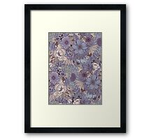 The Wild Side - Lavender Ice Framed Print