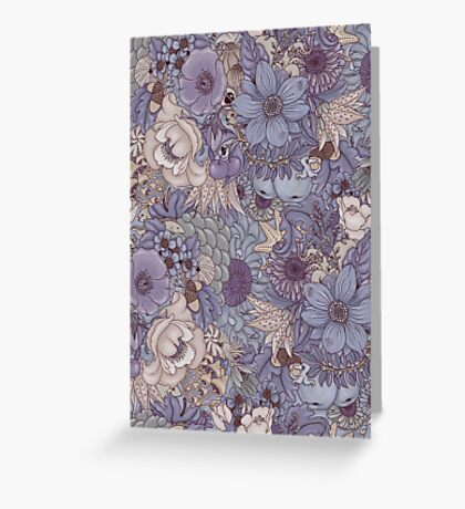 The Wild Side - Lavender Ice Greeting Card