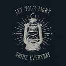 LET YOUR LIGHT SHINE by Magdalena Mikos