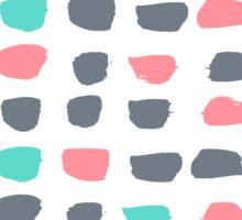 Textured Brush Stroke Sticker