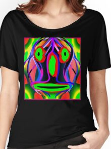 Psychedelic Mask  Women's Relaxed Fit T-Shirt