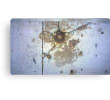 ground rust Canvas Print