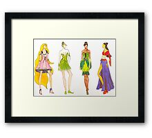 Fairytale Couture 2 Framed Print