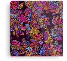 Paisley Dream - sunset Metal Print
