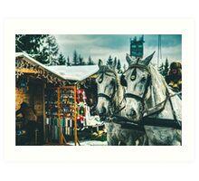 Carriage Art Print