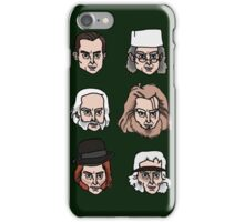 Sherlock Holmes - Many Faces iPhone Case/Skin
