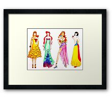 Fairytale Couture 3 Framed Print