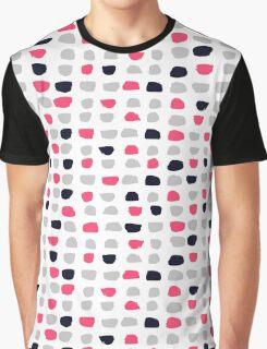 Textured Brush Stroke Graphic T-Shirt
