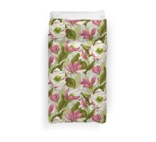 Magnolia Bloom - Morning Duvet Cover