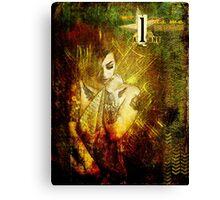 Join me in Death Canvas Print