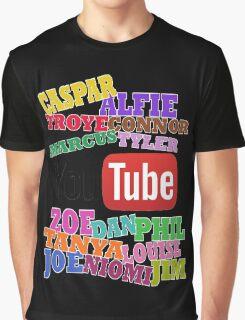 YOUTUBE STARS Graphic T-Shirt