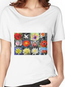 Love Flowers Women's Relaxed Fit T-Shirt