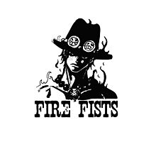 One Piece - Fire Fists Photographic Print