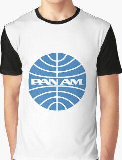 Pan am retro logo Graphic T-Shirt