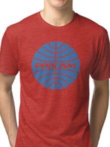 Pan am retro logo Tri-blend T-Shirt
