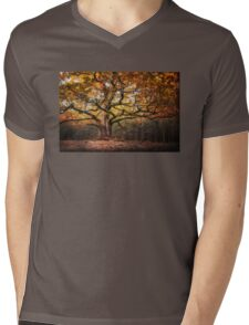 Autumnal oak III Mens V-Neck T-Shirt