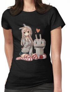 Shimakaze Sit No.2  Womens Fitted T-Shirt