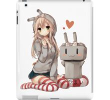 Shimakaze Sit No.2  iPad Case/Skin