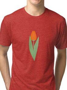 Orange tulip Tri-blend T-Shirt