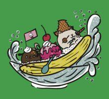Banana Pirates One Piece - Short Sleeve