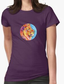 Lion drawing - 2011 Womens Fitted T-Shirt
