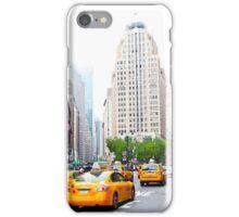 ny taxi iPhone Case/Skin