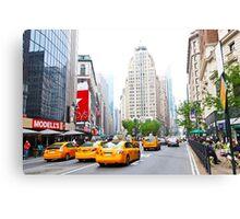 ny taxi Canvas Print