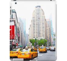 ny taxi iPad Case/Skin