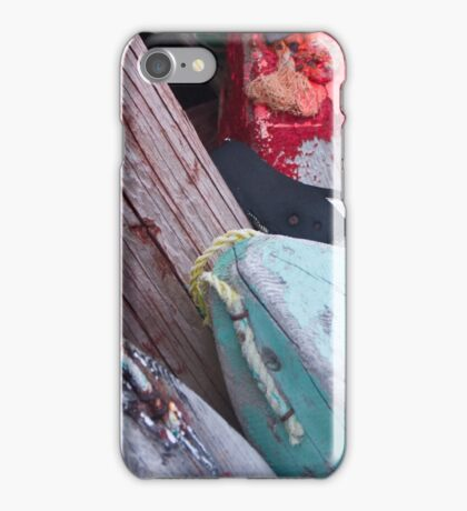 Buoys, Acadian Fishing Village iPhone Case/Skin