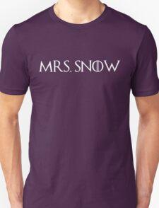 Mrs. Snow (white) T-Shirt